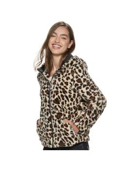juniors-jou-jou-faux-fur-jacket-with-hood by jou-jou