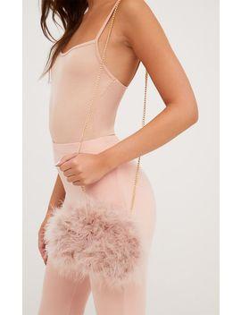 prettylittlething-dusty-pink-strap-bum-bag by prettylittlething