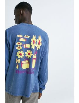 uo-nurture-blue-long-sleeve-t-shirt by urban-outfitters