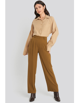palazzo-pants-brown by beyyoglu