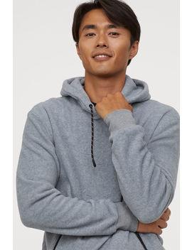 fleece-hooded-top by h&m