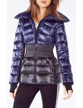 austine-cinch-waist-puffer-jacket by bcbgmaxazria