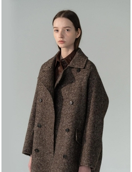 raglan-hairy-wool-coat by rrace