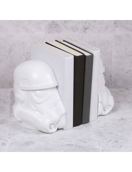 Star Wars Original Stormtrooper Bookends by Iwoot
