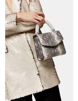 aurora-pearl-and-snake-print-grab-bag by topshop
