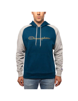champion-mens-color-blocked-pullover-hoodie by champion