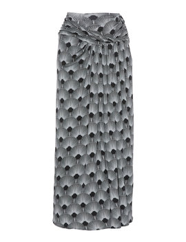printed-jersey-midi-skirt by paco-rabanne