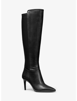 Dorothy Flex Stretch Leather Boot by Michael Michael Kors
