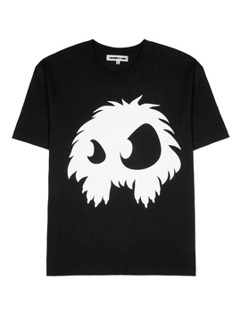 monster-printed-cotton-t-shirt by mcq-alexander-mcqueen