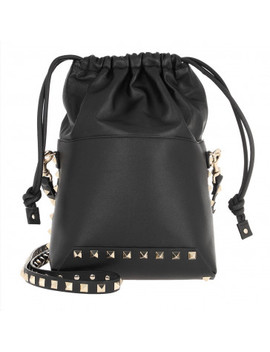 garavani-rockstud-bucket-bag-black by valentino