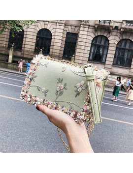 fashion-women-single-shoulder-bag-lace-flower-chain-crossbody-leather-bag by ebay-seller