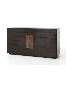mango-wood-&-iron-60-inch-sideboard by living-spaces