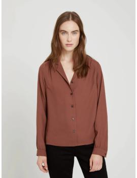 long-sleeve-blouse-in-black by frank-&-oak