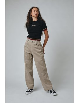 Beige Drill Pant by The Ragged Priest