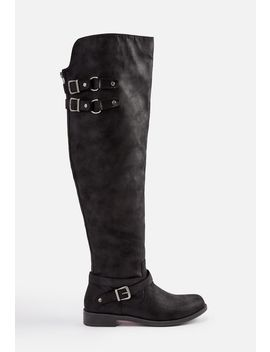 carmona-faux-leather-riding-boot by justfab