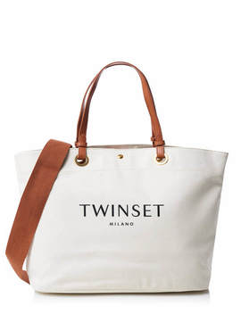 Twin Set Bag Cream by Twin Set