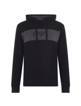 eagle-chest-over-the-head-hoody by emporio-armani-underwear