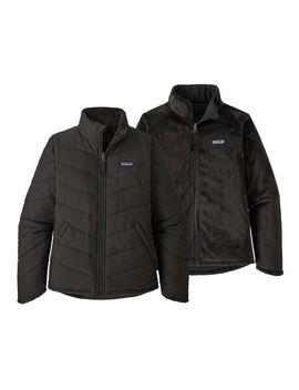 patagonia-girls-reversible-snow-flower-jacket by patagonia