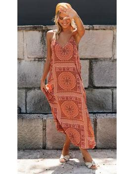 The Goddess Dress (Burnt Orange) by Mura Boutique