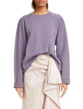 halo-raglan-sleeve-sweatshirt by dries-van-noten