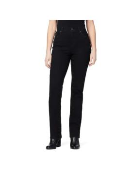 petite-gloria-vanderbilt-amanda-embellished-tapered-jeans by gloria-vanderbilt