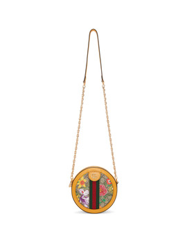 yellow-&-multicolor-mini-round-ophidia-bag by gucci