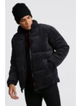 cord-padded-jacket by boohooman