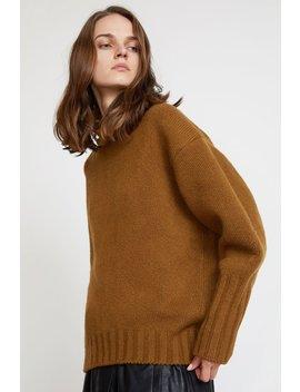 Sayaka Davis High Collar Sweater In Oak by Sayaka Davis
