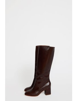 No.6 Sloan Knee High Boot In Syrup Leather by No.6