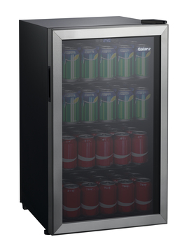 galanz-110-can-beverage-center-glb36s,-stainless-door-frame by galanz
