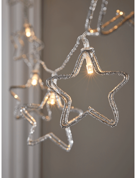 new-glittered-star-silhouette-string-lights by cox-&-cox