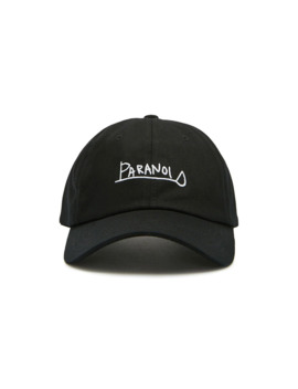 paranoid-graphic-dad-cap by forever-21