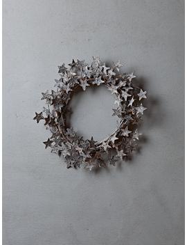 Starry Birch Wreath by Cox & Cox