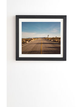 deny-designs-joshua-tree-road-framed-art by pacsun