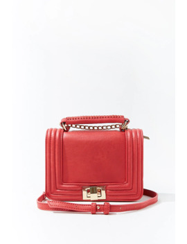 chain-accent-crossbody-bag by forever-21