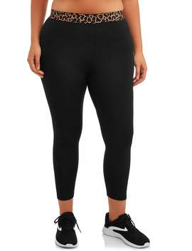 womens-plus-active-cheetah-legging by quintessential
