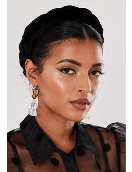 black-velvet-plaited-headband by missguided