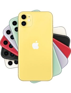iphone-11-with-64gb-memory-cell-phone-(unlocked)---yellow by apple