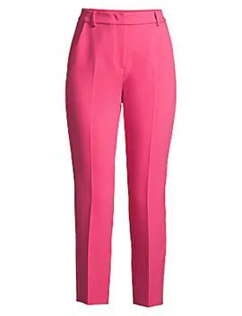 opaco-slim-cropped-trousers by weekend-max-mara