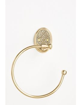 madras-towel-ring by anthropologie