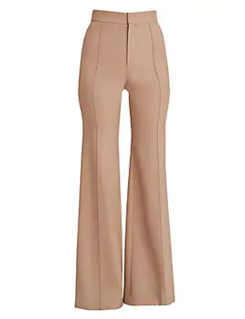 stretch-wool-bell-bottoms by chloé