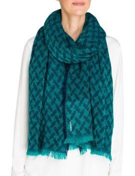 jacquard-scarf by olsen