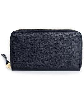 herschel-supply-co-thomas-black-leather-wallet by herschel-supply