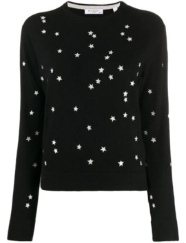 star-print-sweater by equipment
