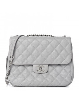 chanel-caviar-quilted-large-urban-companion-flap-grey by chanel