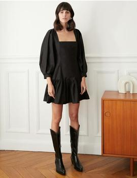 Colette Black Mini Dress by Pixie Market