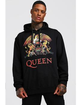 queen-license-hoodie by boohoo