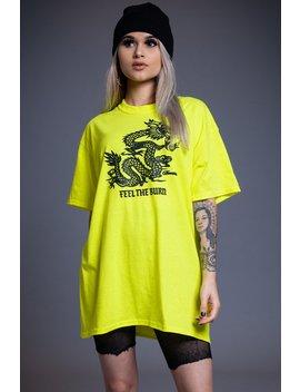 Yellow Ftb Tee by Coal N Terry