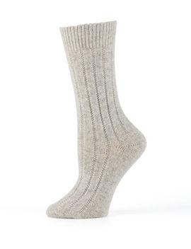 cashmere-ribbed-socks by neiman-marcus