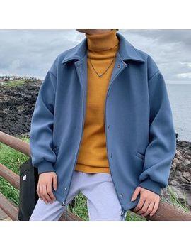 sherina---plain-woolen-coat by sherina